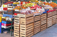 Market crates Stock Photography