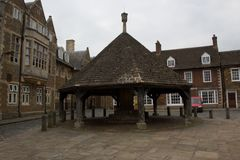 Market cross oakham rutland uk Stock Photos