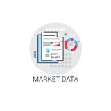 Market Data Business Finance Progress Icon. Vector Illustration Royalty Free Stock Images