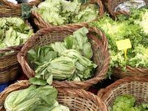 Market day. Fresh vegetables on a street market stock photos