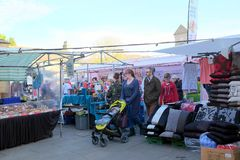 Market day, Bakewell, Derbyshire, UK. Stock Images