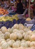 Market Day in a French town - a traditional market scene Royalty Free Stock Photography
