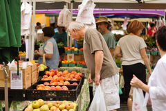 Market Day Fresh Fruit Reston Virginia Royalty Free Stock Photography