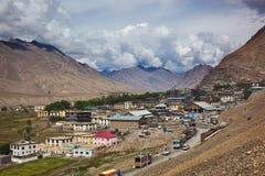 Market day in Kaza. Spiti valley, Himachal Pradesh, India Royalty Free Stock Photography