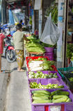 Market day in Koh Phangan, Thailand Royalty Free Stock Images