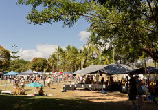 Market day in Port Douglas Stock Photography