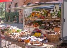 The Market Day. Shot at Sanderumgaard in Denmark Royalty Free Stock Photos