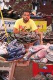 market den mauritian gatan royaltyfri foto