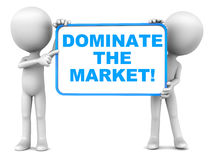 Market domination Royalty Free Stock Image