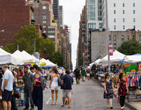 Market down 39th Street Stock Images