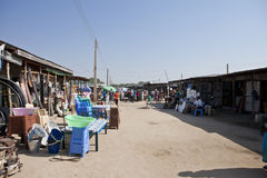 Market, downtown Bor Sudan. Marketplace in downtown Bor Sudan Stock Images