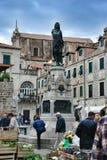 Market in Dubrovnik, Croatia Royalty Free Stock Image
