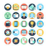 Market and Economics Colored Vector Icons 3 Royalty Free Stock Image