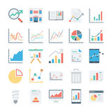 Market and Economics Colored Vector Icons 4. Need some economic icons? This Market and Economics Vector Icons set is perfect for your web design or blog looks Royalty Free Stock Photos