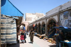 Market in Essaouira, Morocco Stock Images