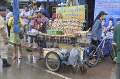 Market fairs Phi ta khon Royalty Free Stock Photo