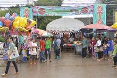 Market fairs Phi ta khon Royalty Free Stock Image