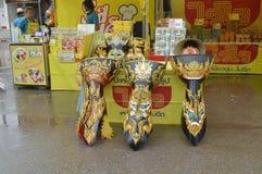 Market fairs Phi ta khon Royalty Free Stock Images