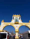 Market at the Feria Ground in Fuengirola on the Costa del Sol Spain Royalty Free Stock Images