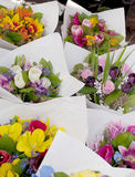 Market flowers Royalty Free Stock Images