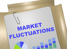 Market Fluctuations concept Royalty Free Stock Images