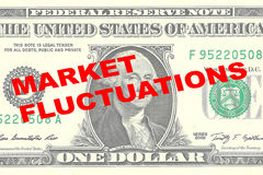 Market Fluctuations concept Stock Images