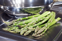 Market Fresh Asparagus Stock Images