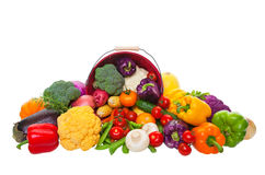 Market Fresh Vegetables Stock Photo