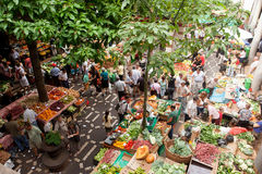 Market in Funchal, Madeira Stock Photography