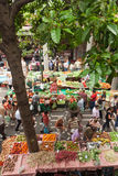 Market in Funchal, Madeira Royalty Free Stock Photos