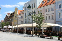 Market in Gliwice Royalty Free Stock Photography