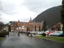 Market hall in Brasov Royalty Free Stock Photo