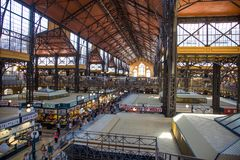 Market hall royalty free stock images