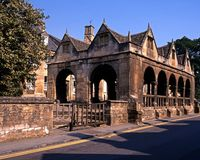 Market Hall, Chipping Campden, England. Stock Photography