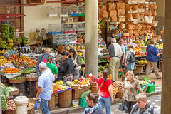 Market hall, Funchal, Madeira - exterior view Stock Images