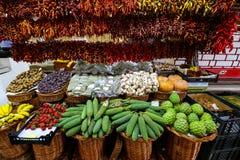 Market Hall of Funchal, Madeira Stock Photography
