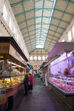Market hall in Livorno, Italy Stock Images