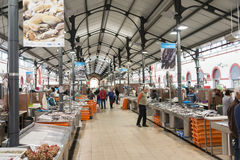 Market hall in Loule Stock Photography
