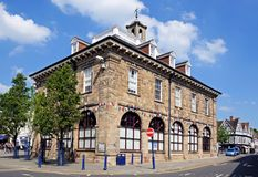 Market Hall, Warwick. Stock Images