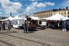 Market in helsinki Stock Photos