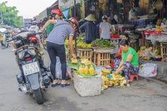 Market in Hoi An, Vietnam Stock Photo