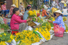 Market in Hoi An, Vietnam Royalty Free Stock Images