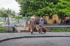 Market in Hoi An, Vietnam Royalty Free Stock Photography