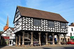The Market House, Ledbury. Stock Images