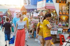 Market HUAHIN, Thailand. stock photography