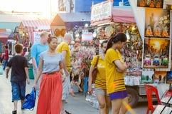 Market HUAHIN, Thailand. Stock Photography