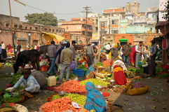 Market in India Royalty Free Stock Photo