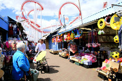Market, Ingoldmells, Lincolnshire. Royalty Free Stock Photos