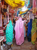 Market in Jaipur, India Royalty Free Stock Photo