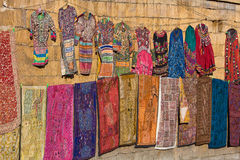 Market in Jaisalmer. Rajasthan, India. Royalty Free Stock Photo